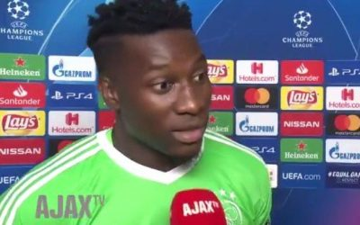 "André Onana: ""I do not see the difference between the white and black goalkeepers"""
