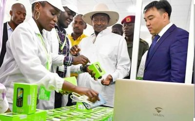 Uganda launches first mobile phone manufacturing Company.