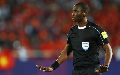 Football: Cameroon referee, Alioum Sidi has been ranked best referee in Africa