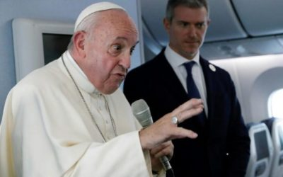 Pope Francis Declares the possession of Nuclear Weapons by any Country as Immoral in the Catholic Manual
