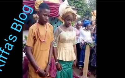 Nigeria: 17-year-old boy leaves school to marry 16-year-old girl.
