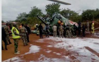 Ivory Coast: Collision between two helicopters belonging to the army.