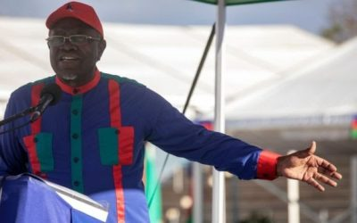 Namibia's President Hage Geingob wins re-election