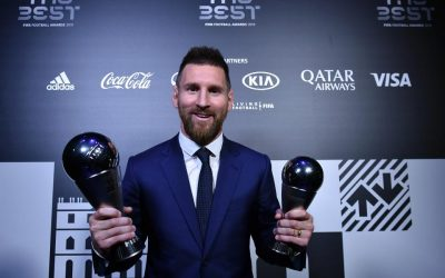 Messi Beats Van Dijk And Cristiano Ronaldo To Win A Record Sixth Ballon D'Or