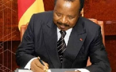 Cameroon: Biya appoints and transfers new Generals and colonels