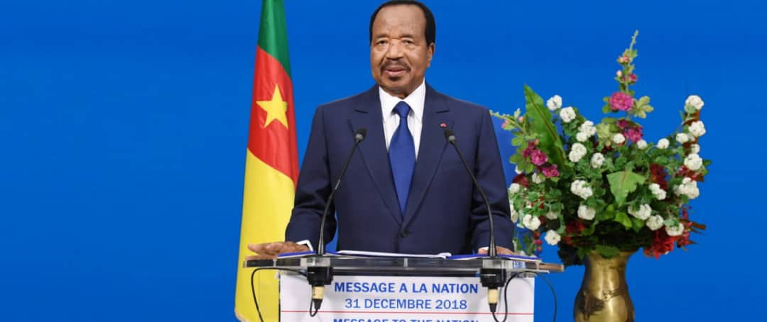 President Paul Biya promise to crush separatists