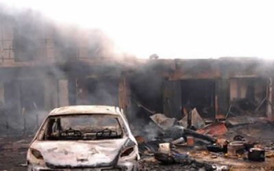 Boko Haram: Nine killed in bomb blast on Nigeria-Cameroon border