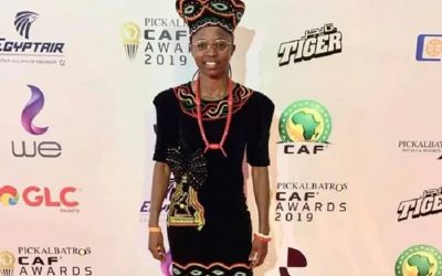 CAF Awards 2019: No disappointment for Nchout Njoya Ajara