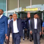 The president of CAF makes a visit to Cameroon ahead of the AFCON 2021