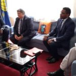 Visiting French diplomats pledge to support Cameroon seek peace.