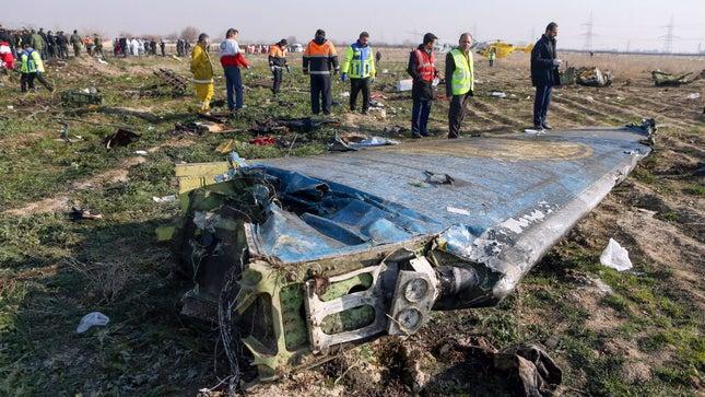 "Iran says it ""unintentionally"" shot down Ukrainian airplane"