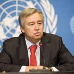 "Antonio Guterres calls for an election ""in calm and serenity"" in Cameroon"