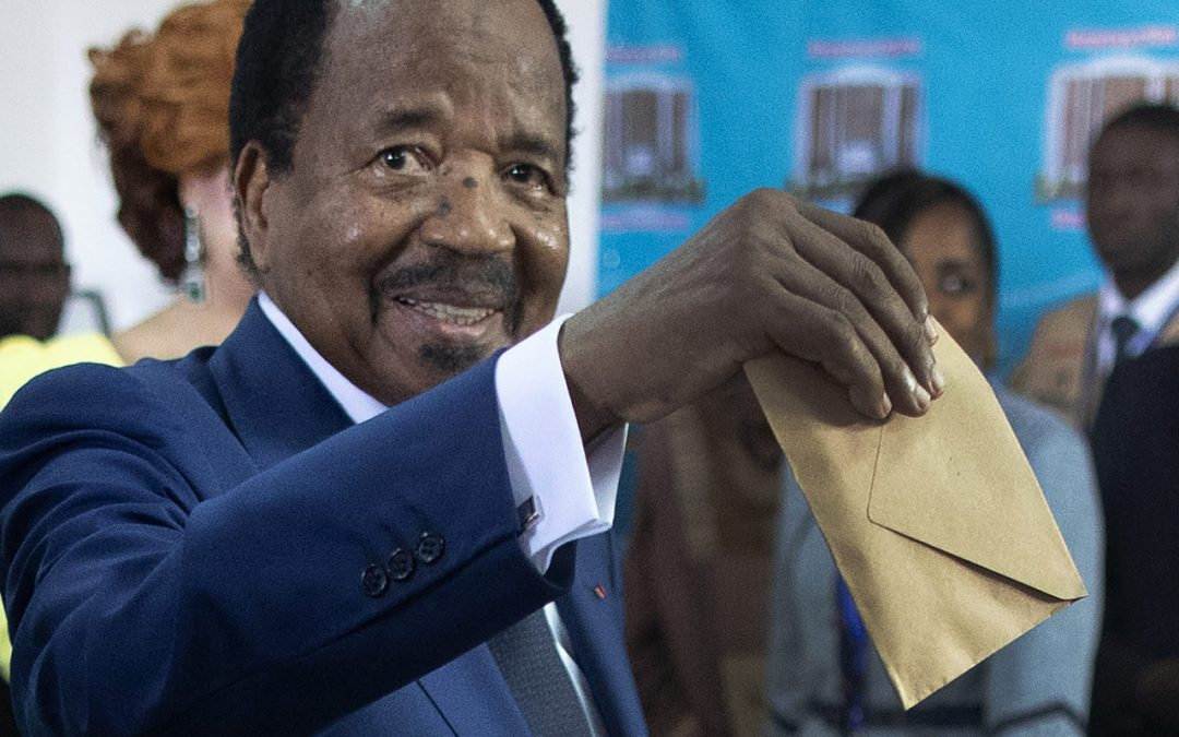February 9, 2020 twin elections: Cameroon Holds Elections in a Time of Crisis.