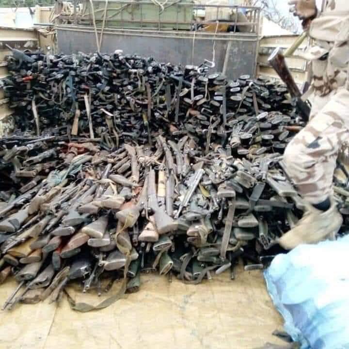 Boko Haram warehouse destroyed