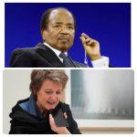 Paul Biya on telephone conversation with Switzerland over anglophone crisis.