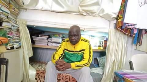 Amadou Valmouke in prison
